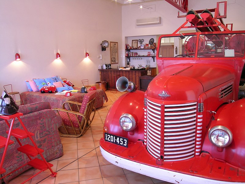 The Fire Station Inn - Fire Engine Suite - WA Accommodation