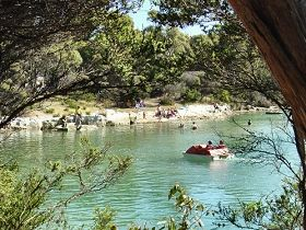 Crayfish Creek Van and Cabin Park and Spa House - WA Accommodation
