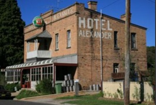 Alexander Hotel Rydal - WA Accommodation