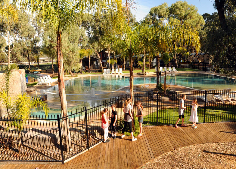 BIG4 Renmark Riverfront Caravan Park - WA Accommodation