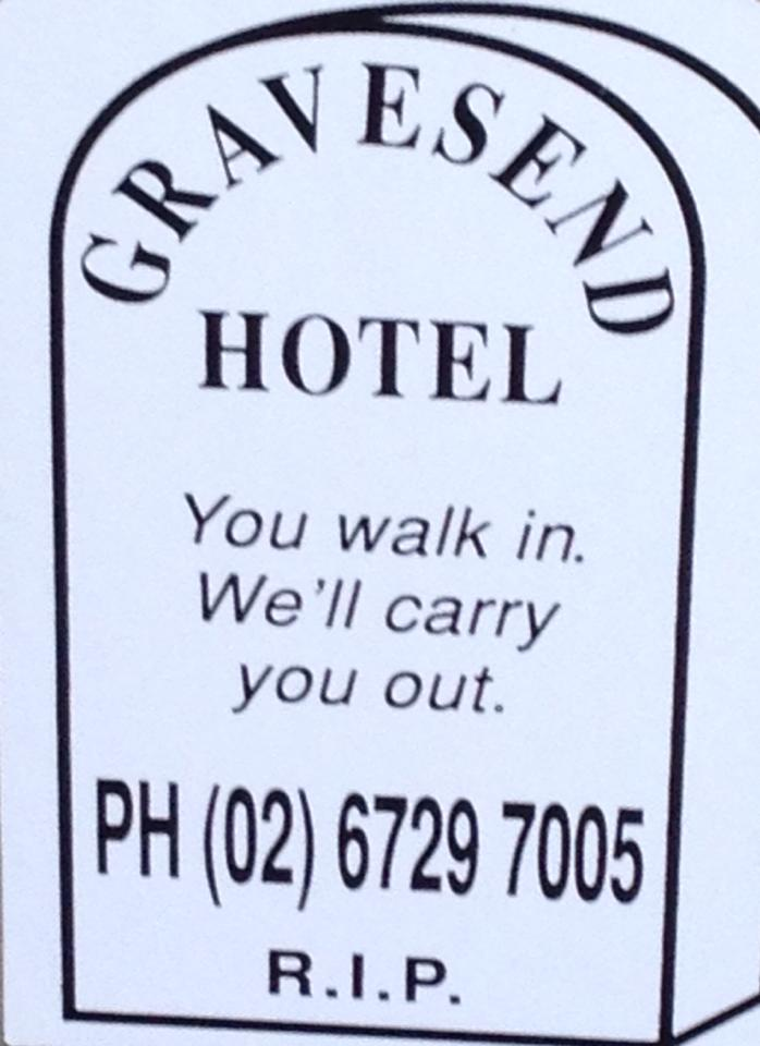Gravesend Hotel - WA Accommodation