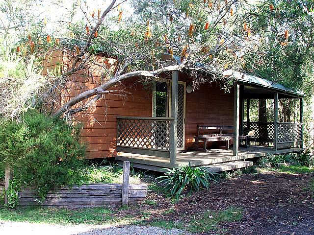 Jervis Bay Cabins  Hidden Creek Real Camping - WA Accommodation