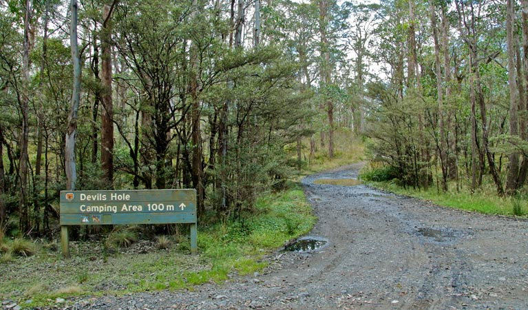 Devils Hole campground and picnic area - WA Accommodation