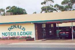 DONALD MOTOR LODGE - WA Accommodation
