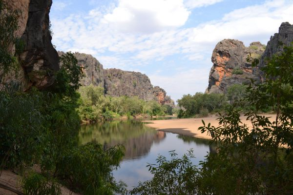 Windjana Gorge Camp at Windjana Gorge National Park - WA Accommodation