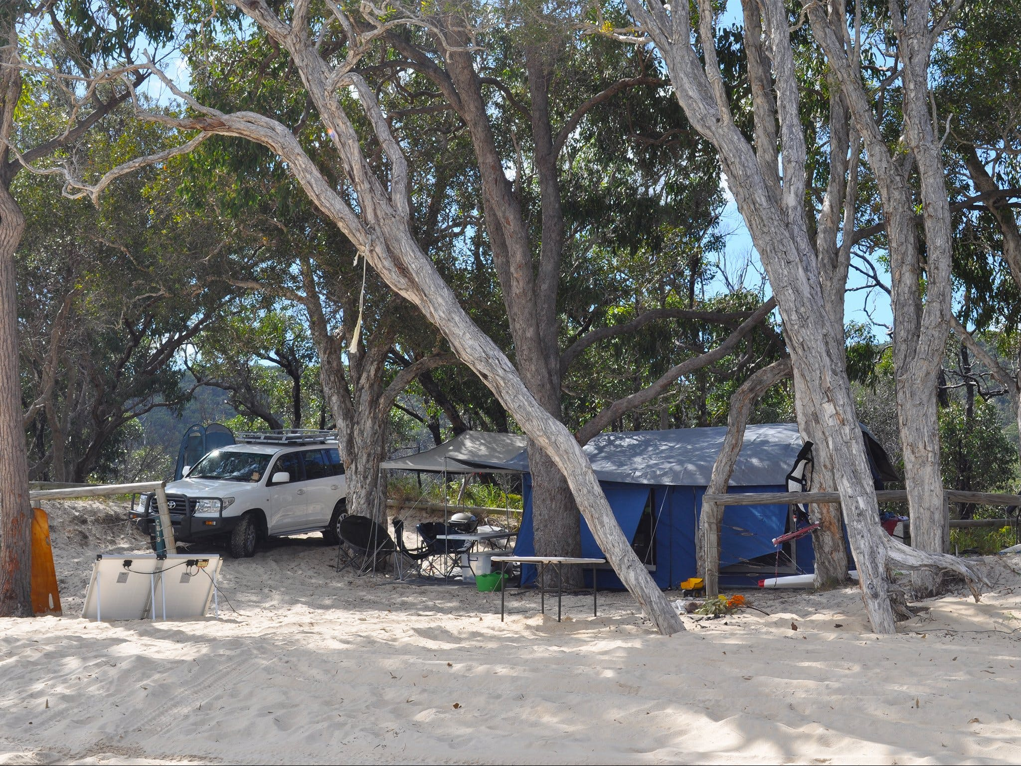 Moreton Island National Park and Recreation Area camping - WA Accommodation