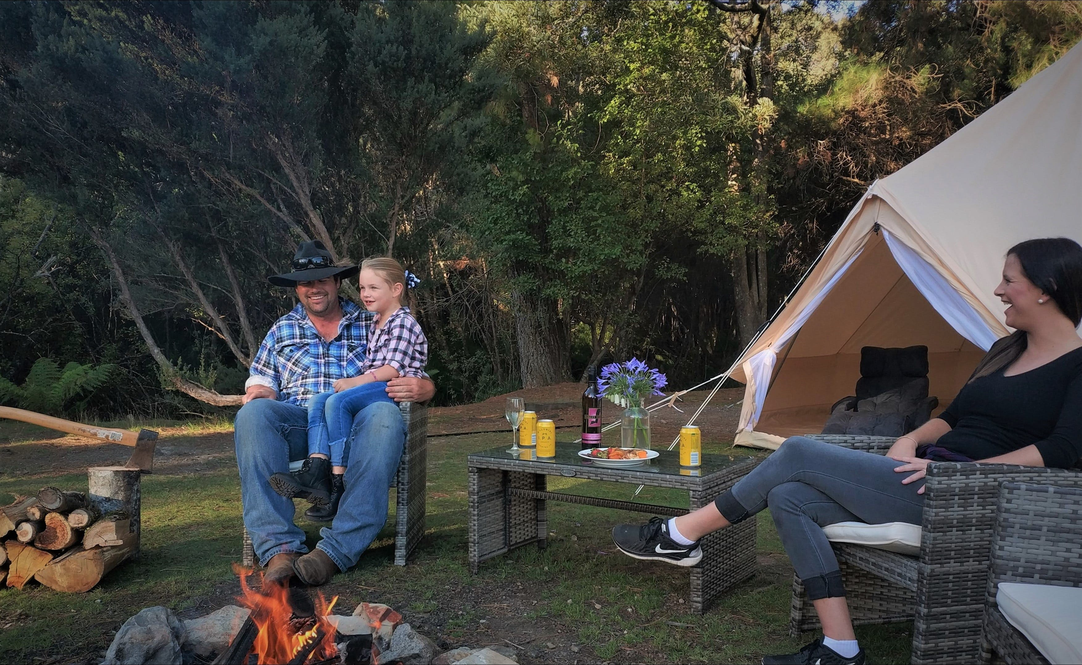 Zeehan Bush Camp - WA Accommodation