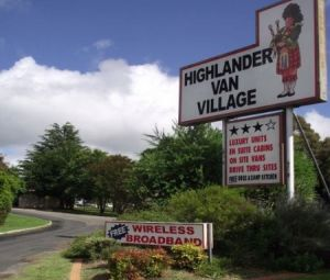 Highlander Van Village - WA Accommodation