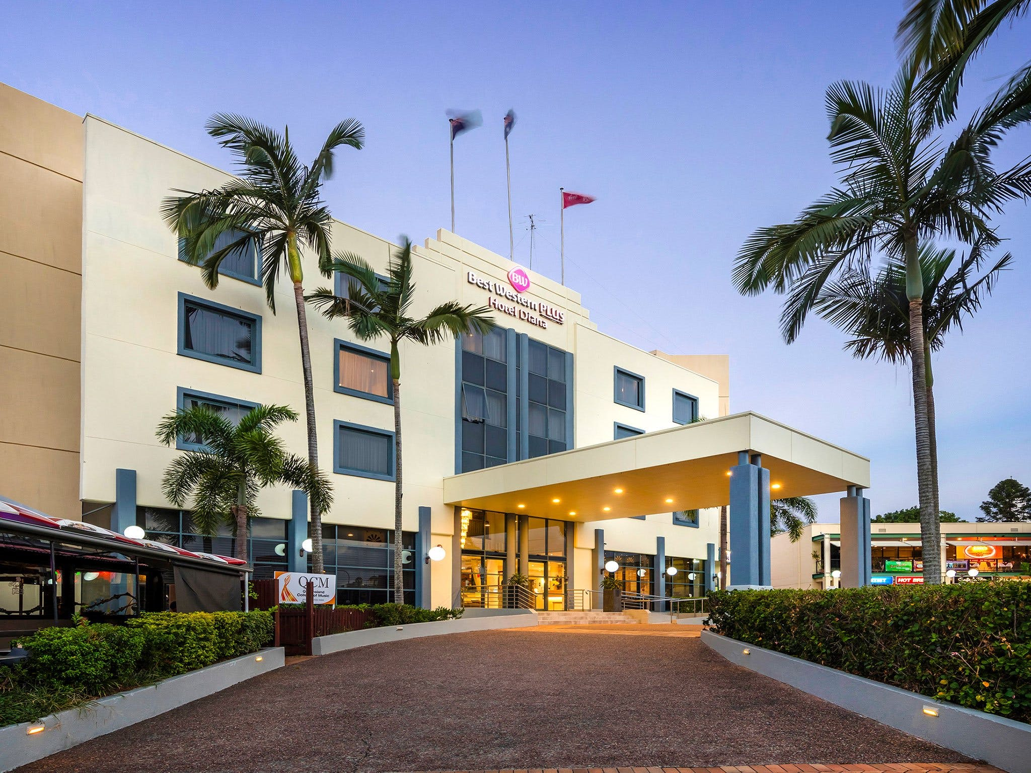 Best Western Plus Hotel Diana - WA Accommodation