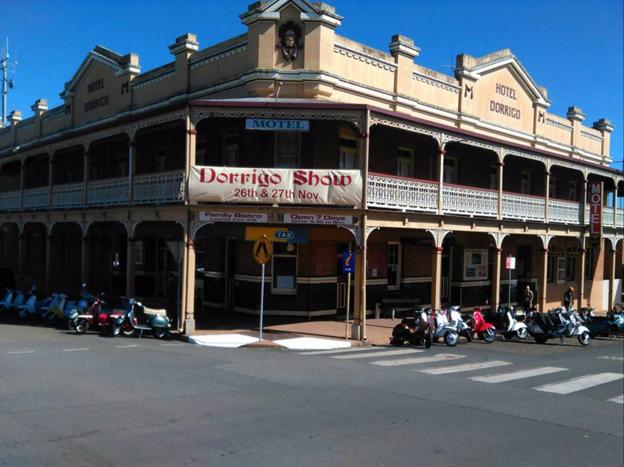 Heritage Hotel Motel Dorrigo - WA Accommodation