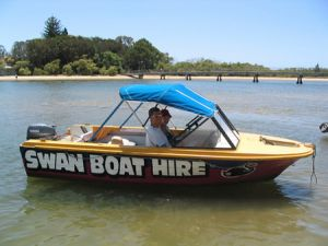 Swan Boat Hire - WA Accommodation