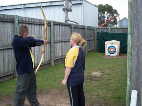 Bairnsdale Archery Mini Golf  Games Park - WA Accommodation