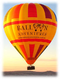 Balloon Adventures Barossa Valley - WA Accommodation
