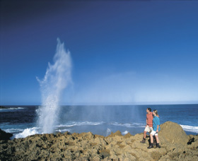 The Blowholes Carnarvon - WA Accommodation