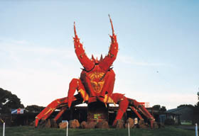 The Big Lobster - WA Accommodation