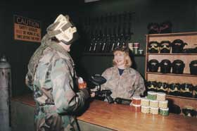 Indoor Skirmish - Paintball Sports - WA Accommodation