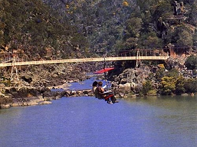 Launceston Cataract Gorge  Gorge Scenic Chairlift - WA Accommodation