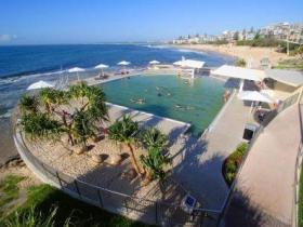 Kings Beach - Beachfront Salt Water Pool - WA Accommodation