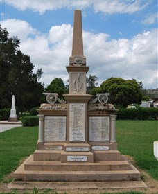 Boer War Memorial and Park - WA Accommodation