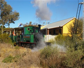 Red Cliffs Historical Steam Railway - WA Accommodation