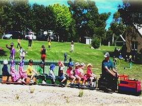 Tiny Train Park - WA Accommodation