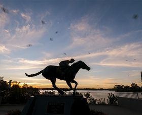 Black Caviar Statue - WA Accommodation