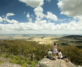 Mt Wombat lookout - WA Accommodation