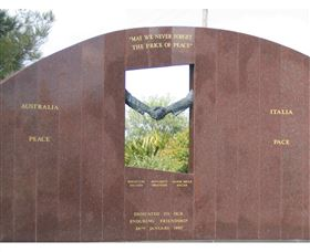 Cowra Italy Friendship Monument - WA Accommodation