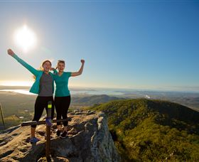 Mount Larcom Climb - WA Accommodation
