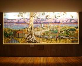 Adaminaby Memorial Hall Stage Curtain