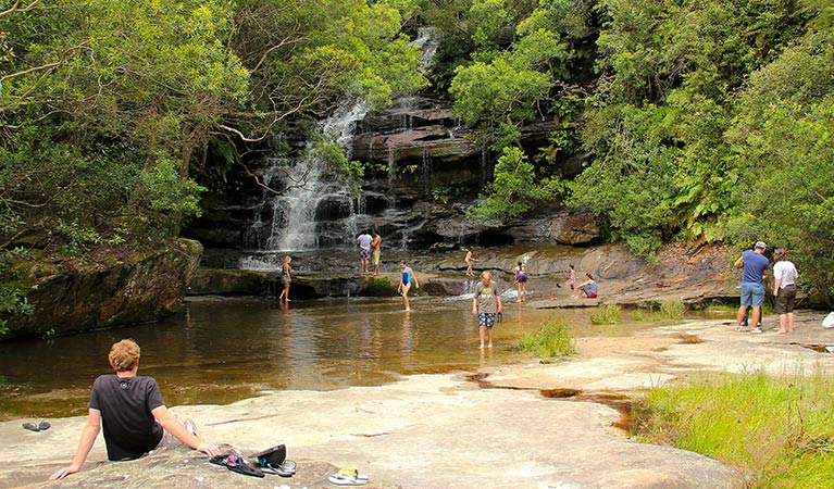Somersby Falls picnic area