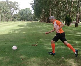 FootGolf at Teven Valley Golf Course - WA Accommodation