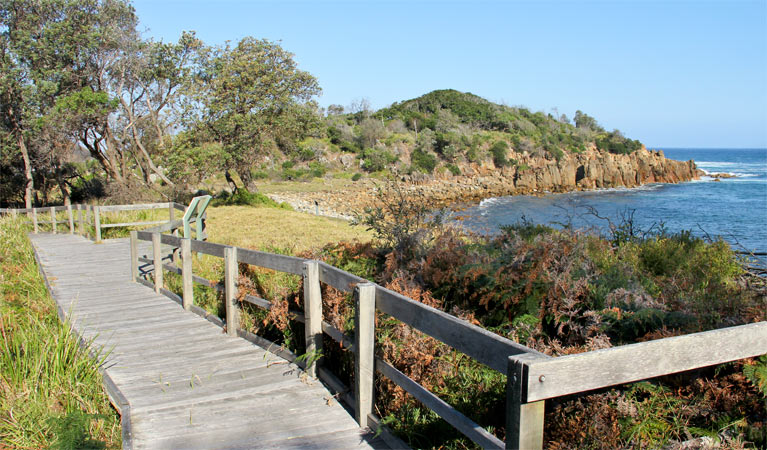 Mimosa Rocks walking track - WA Accommodation
