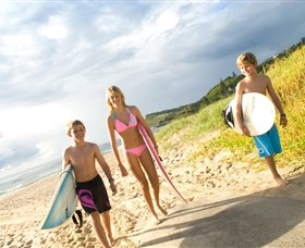 Ballina Surfing Beaches - WA Accommodation