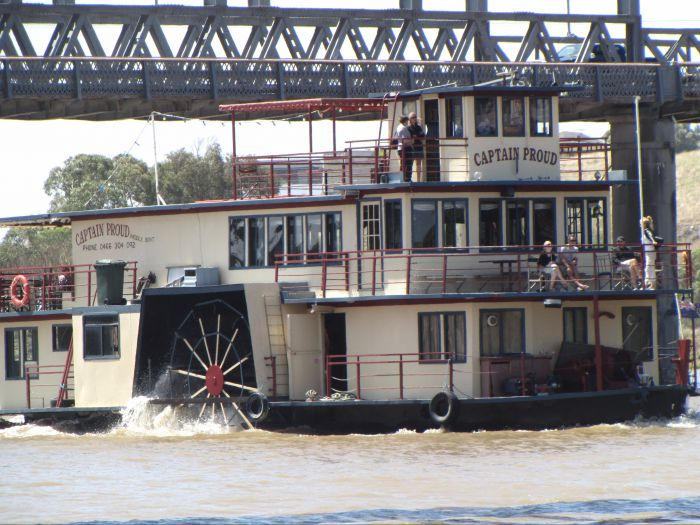 Captain Proud Paddleboat Cruises - WA Accommodation
