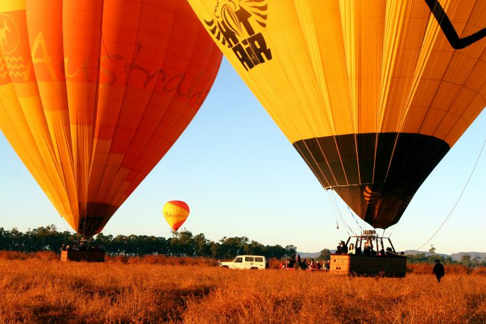 Hot Air Balloon Scenic Rim - WA Accommodation