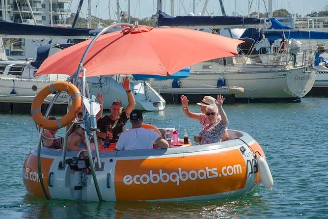 Self-Drive BBQ Boat Hire Mandurah - Group of 7 - 10 people - WA Accommodation