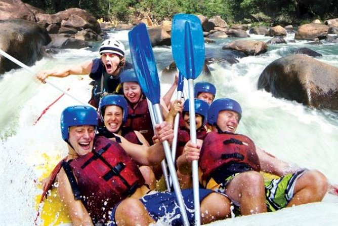 Tully River Full-Day White Water Rafting from Cairns including Lunch - WA Accommodation