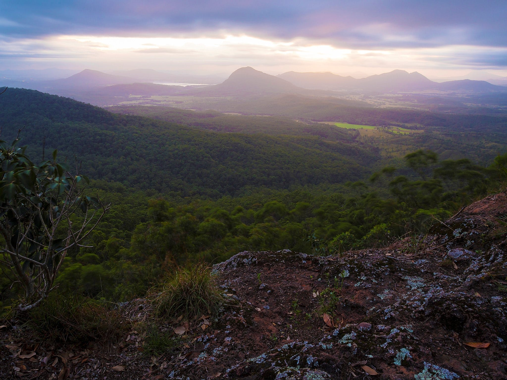 Cunninghams Gap and Spicers Gap Main Range National Park - WA Accommodation