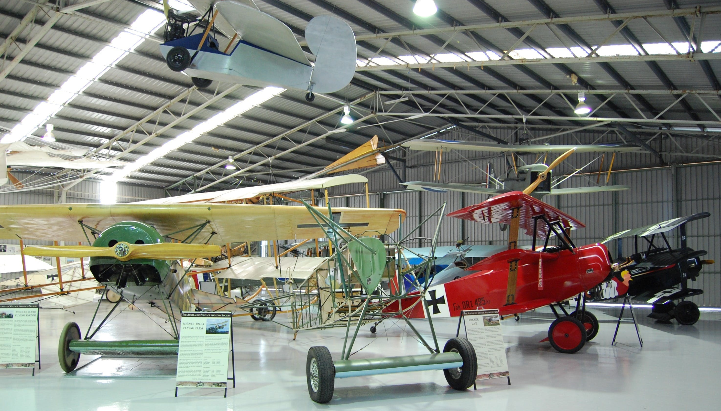 The Australian Vintage Aviation Society Museum - WA Accommodation