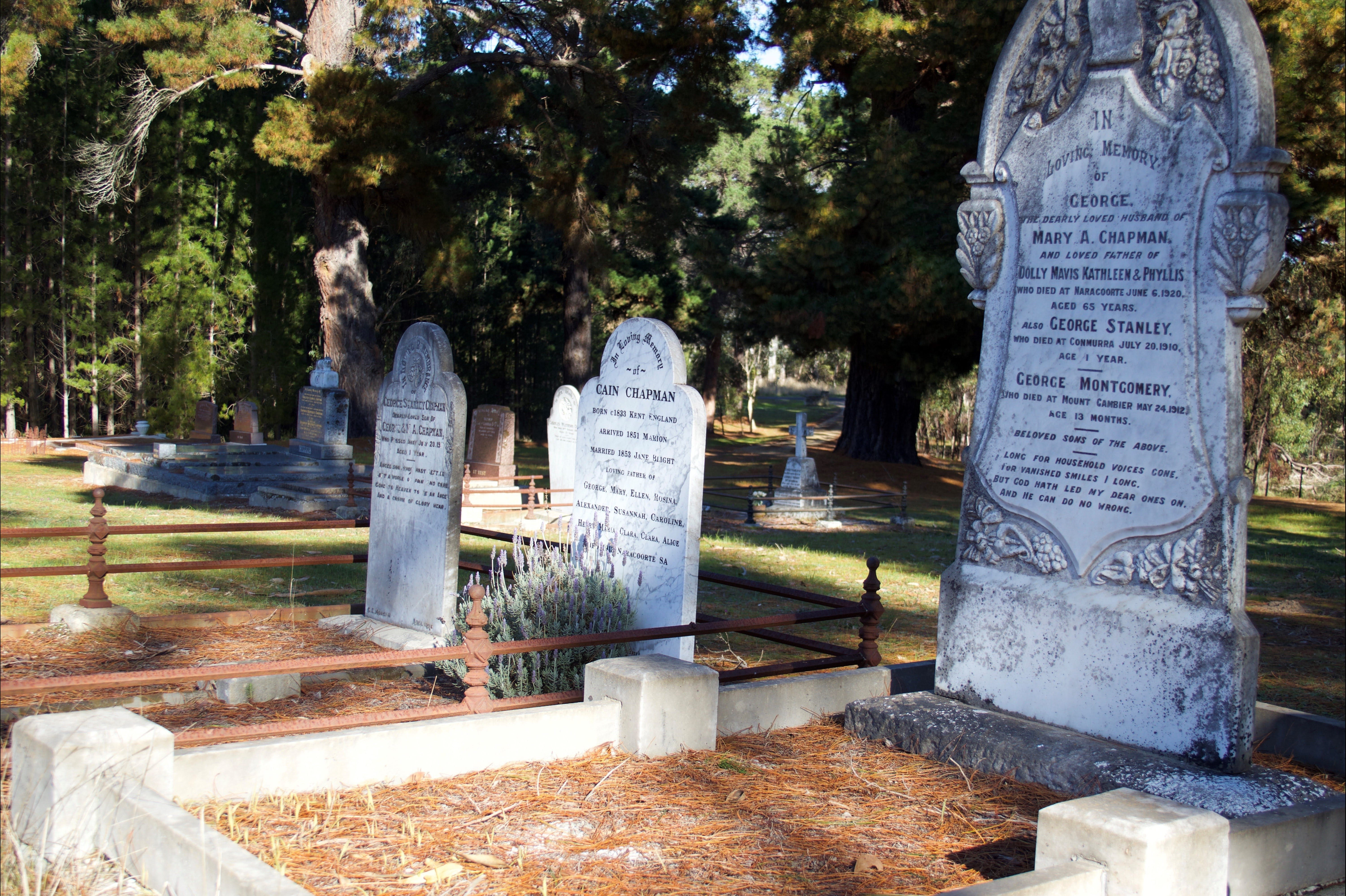 Lucindale Cemetery - WA Accommodation