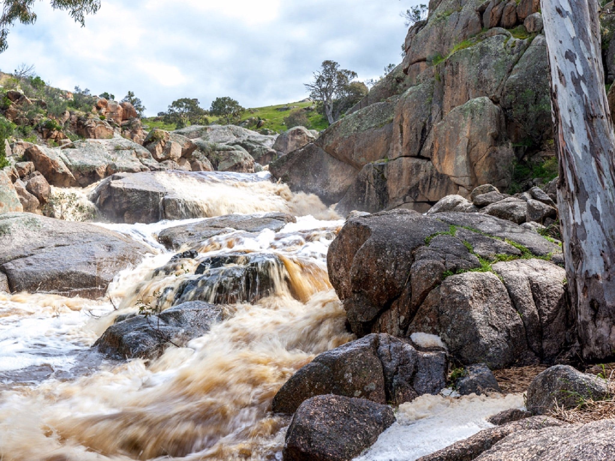 Mannum Waterfalls - WA Accommodation