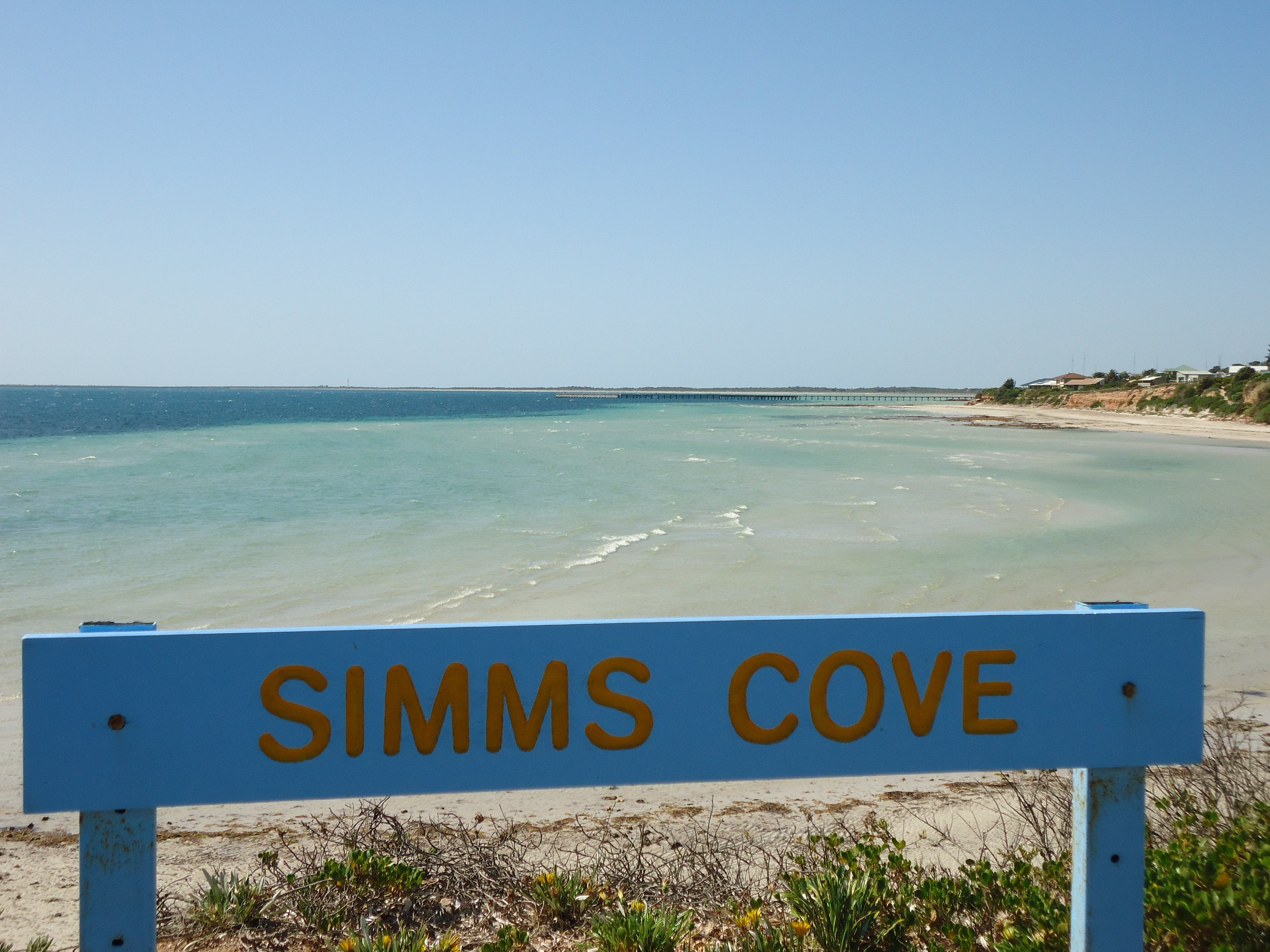 Simms Cove lookout and beach Moonta Bay - WA Accommodation
