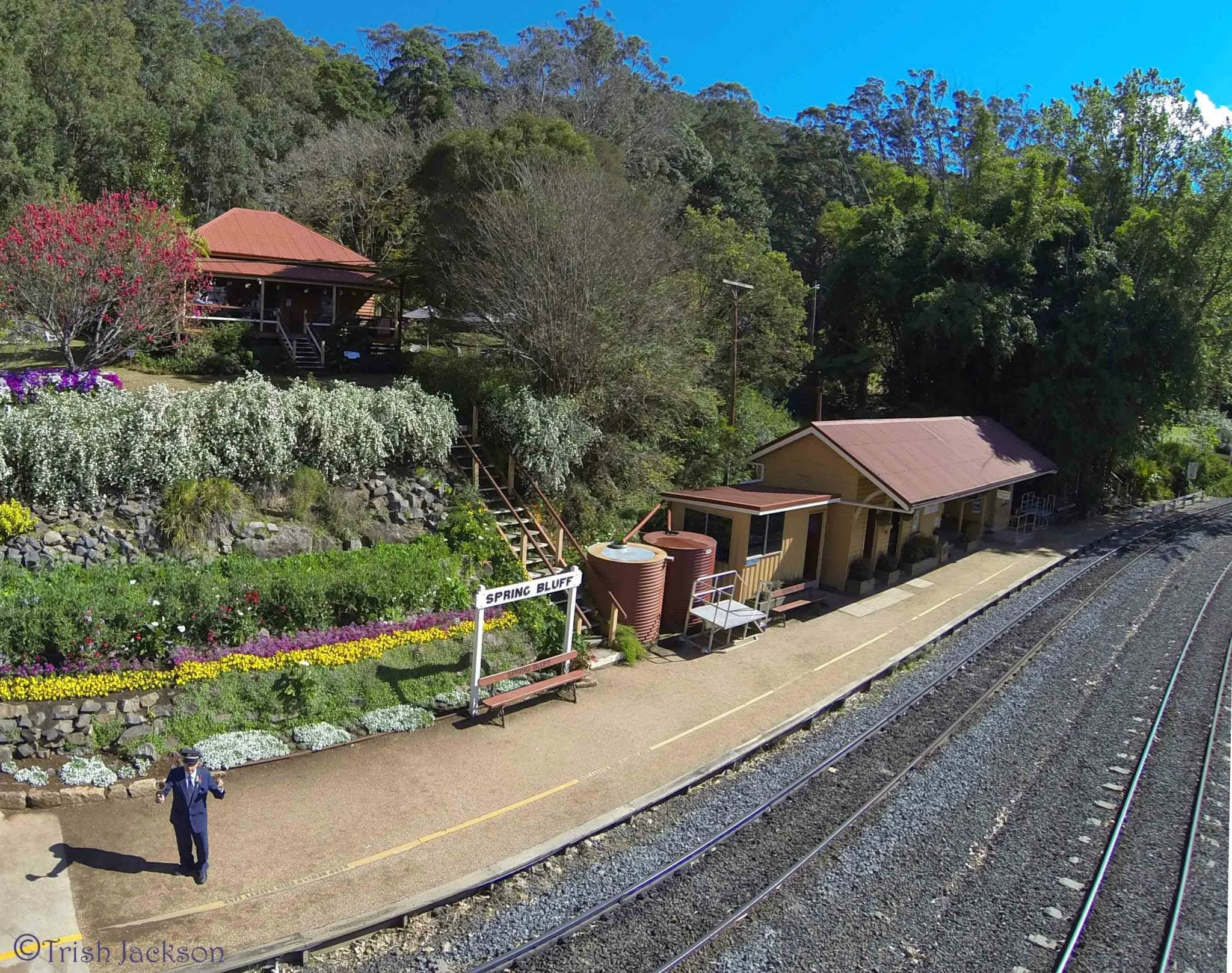 Spring Bluff Railway Station - WA Accommodation