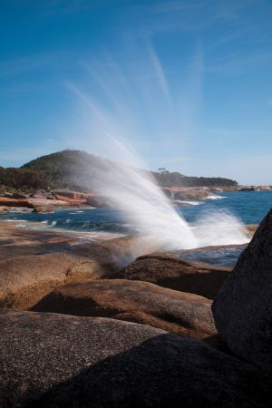 Bicheno Blowhole - WA Accommodation