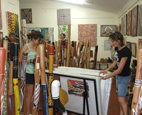 Top Didj and Art Gallery - WA Accommodation