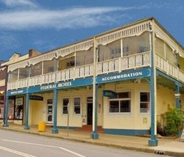 Federal Hotel Bellingen - WA Accommodation