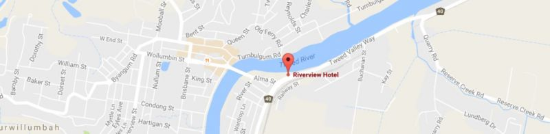 Riverview Hotel Tempe - WA Accommodation