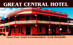 Great Central Hotel - WA Accommodation