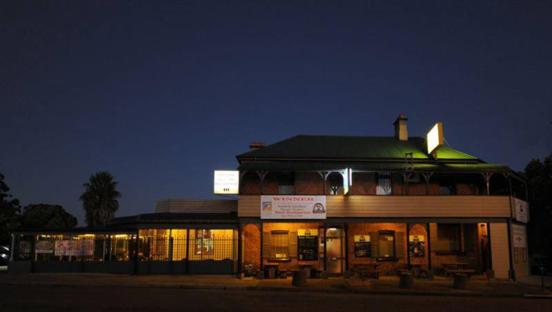 Bushrangers Bar  Brasserie - WA Accommodation